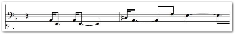 アルプス交響曲に似てるトコ