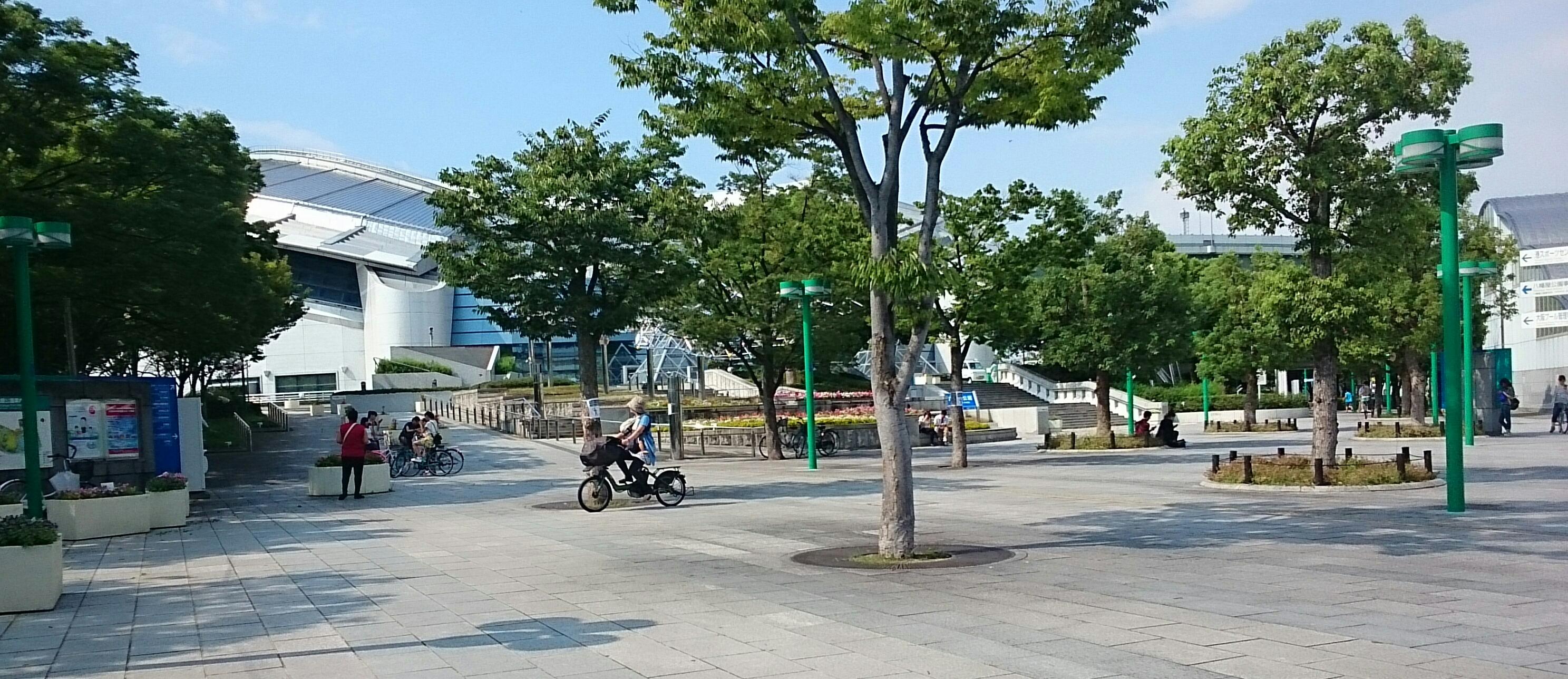 八幡屋公園でポケモンGO
