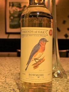 Friends of Oak BOWMORE 1996 10y_300