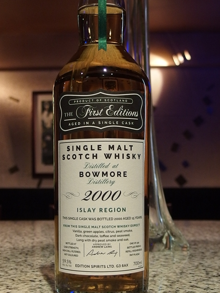 First Editions Bowmore 2000_600