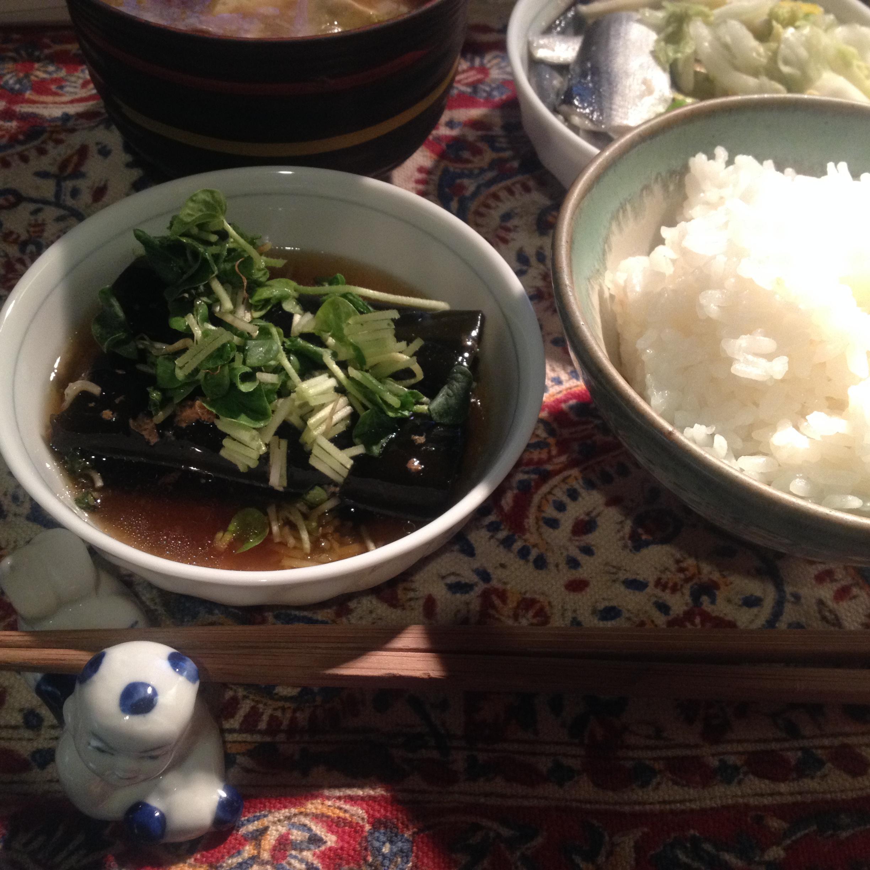 鰊昆布巻缶定食