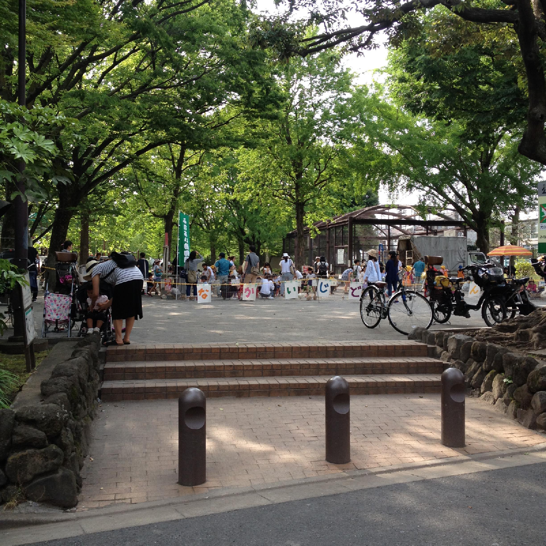 新宿区立落合公園移動動物園