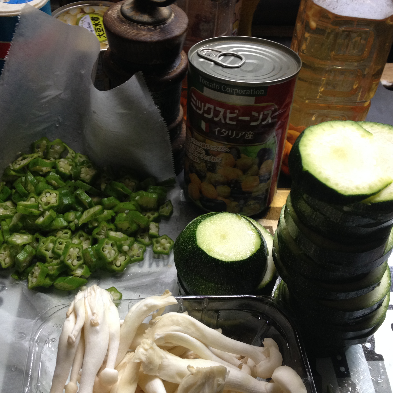 鶏豆汁材料