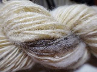 紡毛糸の復習その2アップ
