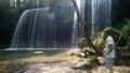 眺める鍋ヶ滝