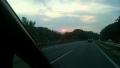 夕日帰り道