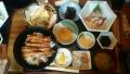 アナゴ丼定食