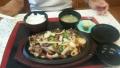 猪肉鉄板焼き定食