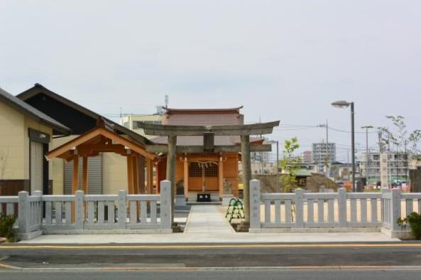 西加平神社①