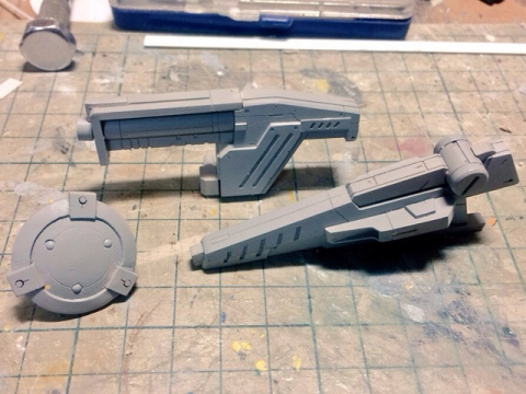 Rocket&507 WF2016S AC武器セット