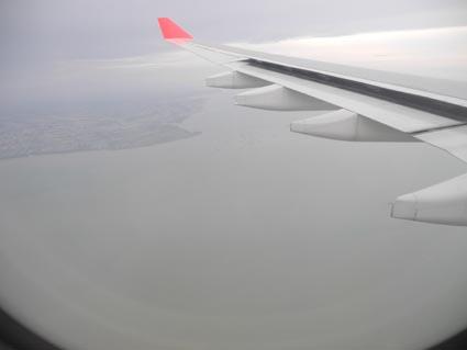 8マレーシア上空