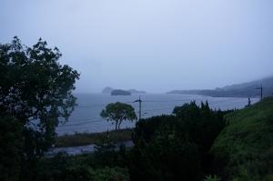 梅雨の朝1