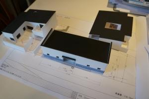 プロジェクト中の模型