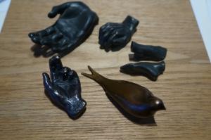 ブロンズ彫刻Ann Ricketts2