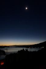 月と日の出前32