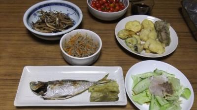 漁師の魚尽くし食卓