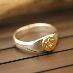 六芒星 ポイント 指輪