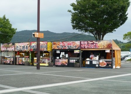 東名浜松PA:屋台外観