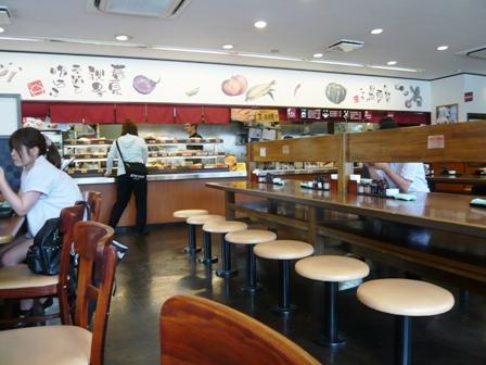 めしや食堂:店内1