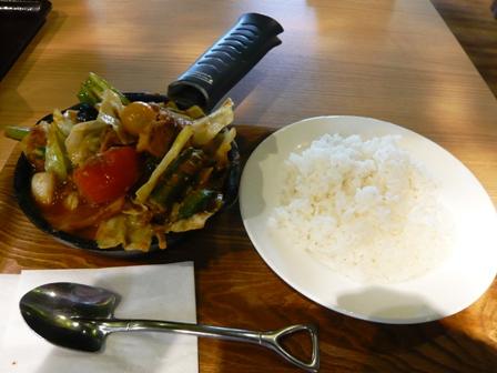 イオンモール常滑:campexpress;一日分の野菜カレー