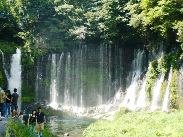 白糸の滝:滝