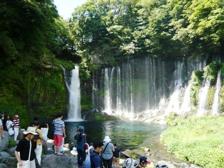 白糸の滝:滝1