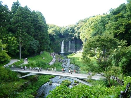 白糸の滝:滝3