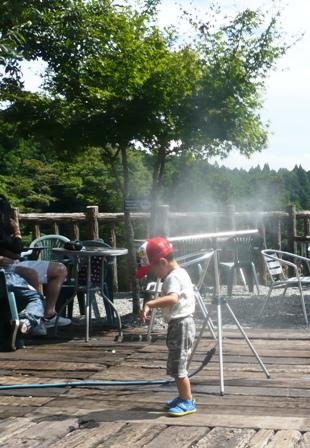 白糸の滝:CAFE MIFUJIYA;テラス席