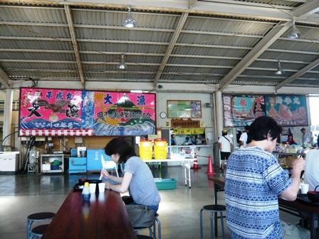田子の浦漁協食堂:店内3