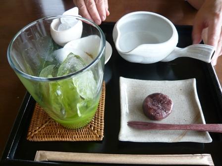 佐野製茶:冷やし濃緑茶