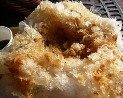 雲上かき氷:三温蜜きな粉2