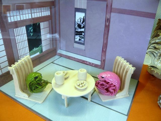 沼津港深海水族館:グソクムシ展示物