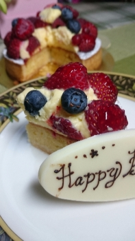 20160627誕生ケーキ1