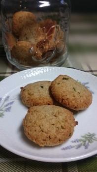 20160902ローズマリー蕎麦クッキー1