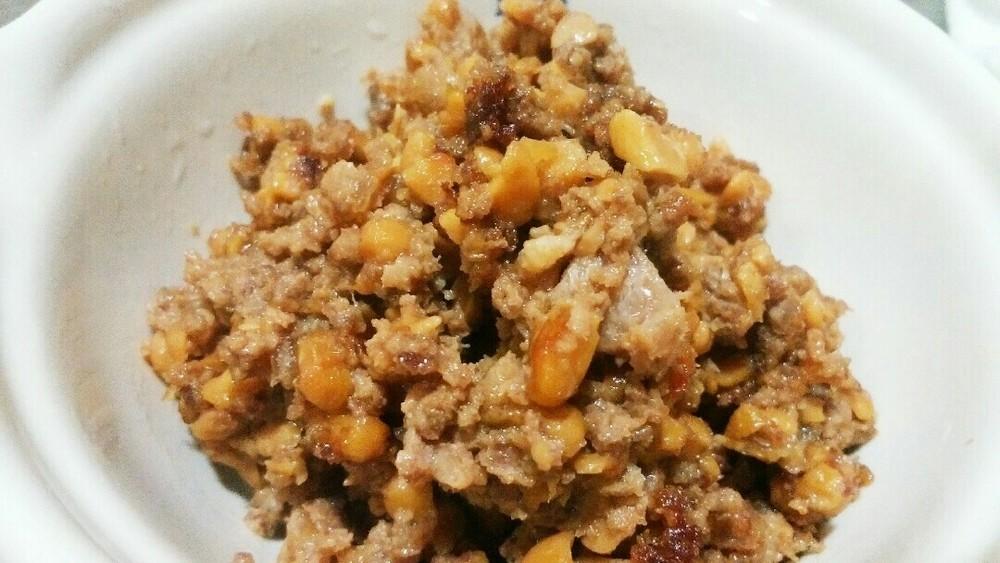 納豆とミンチのレタス包みの作り方4