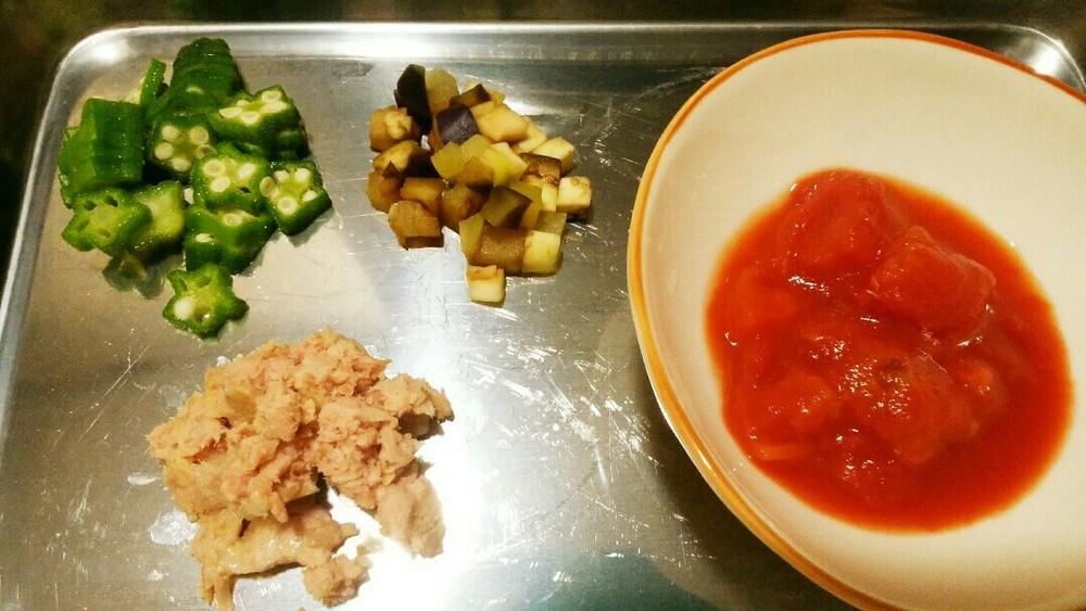 冷やde野菜のカッペリーニの作り方1