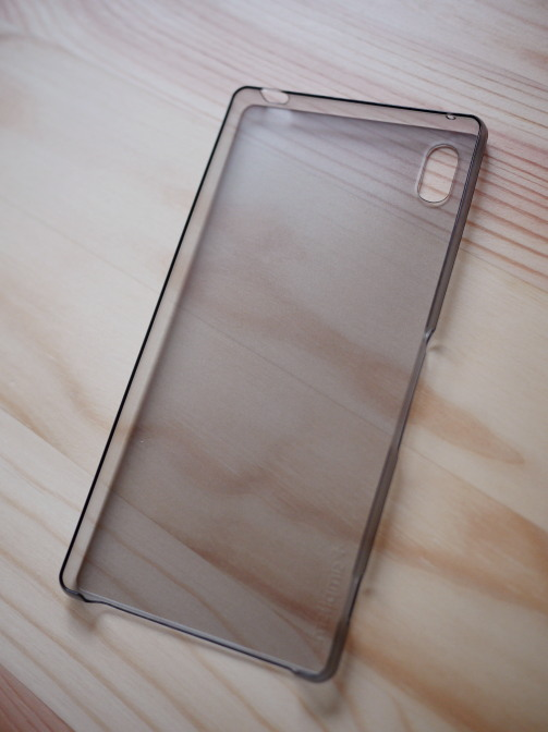 simplism 超極薄ケース made for Xperia Z4