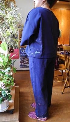着物リメイク1バック(正絹着物)