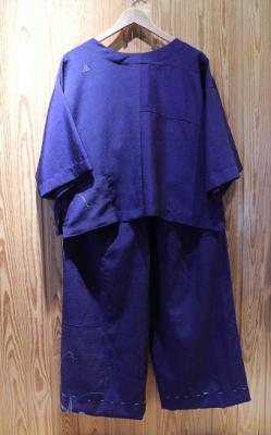 着物リメイク1上下(正絹)