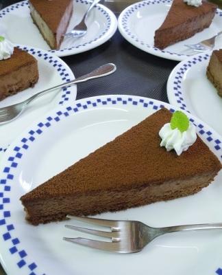 20160618チョコレートケーキ