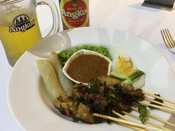 20161023カンボジア料理_串焼き
