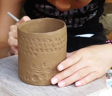 2016親子で陶芸体験告知