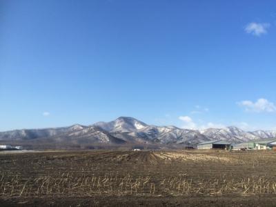 山も雪解け