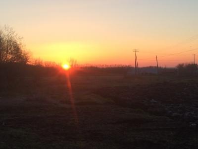 朝日のパワー
