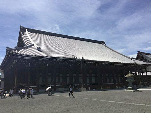 西本願寺御影堂201607