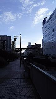 20160122通勤風景(その1)