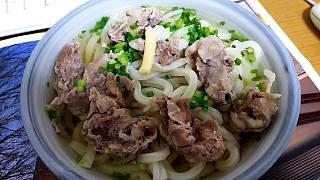 20160124肉うどん(その1)