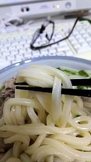 20160124肉うどん(その3)