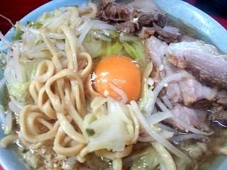 20151010ラーメン二郎三田本店(その9)