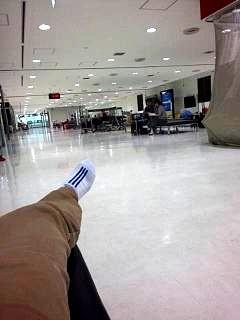 20151015成田空港野宿(その2)